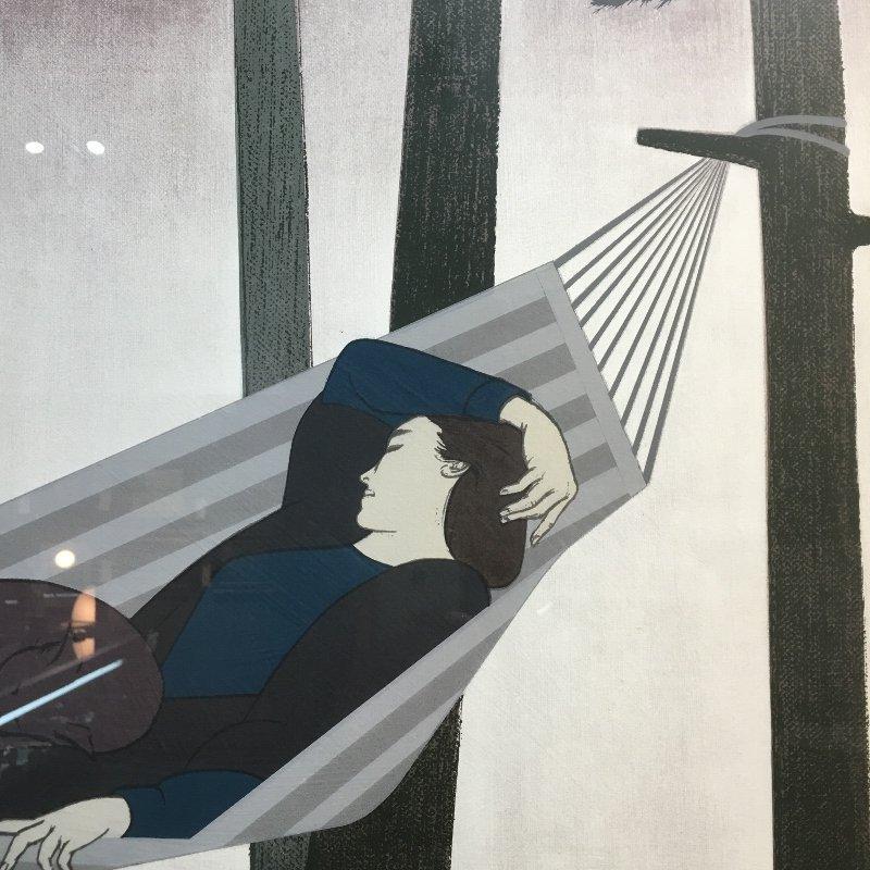 """Will Barnet lithograph, """"Summer Idyll"""" - 6"""