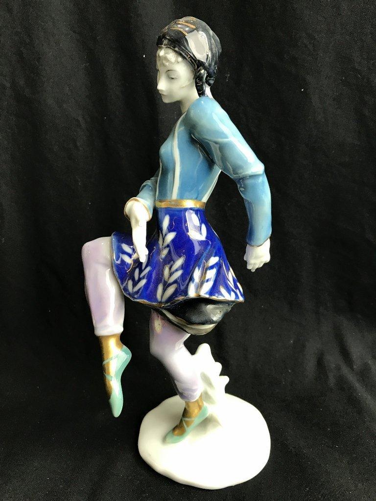 German porc dancing girl by Karl Ens - 3