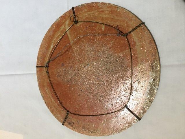 Japanese porc circular plaque, c.1900 - 2