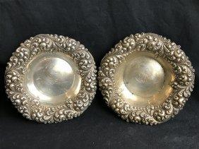 Box lot-Two American silver bowls,6.1 t.oz.