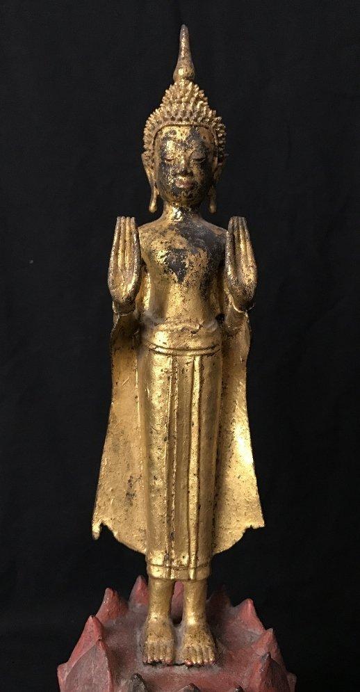 Thai bronze Buddha, c.1900