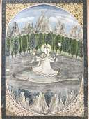 Indian miniature painting, 18th/19th cen