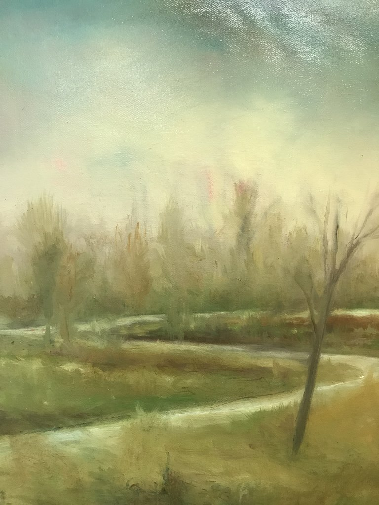 """""""Misty Morn"""", painting by William McCarthy"""