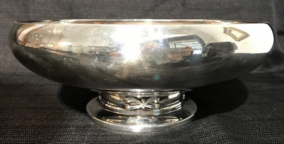 Danish sterling bowl by Holger Rasmussen,18.6 t.oz