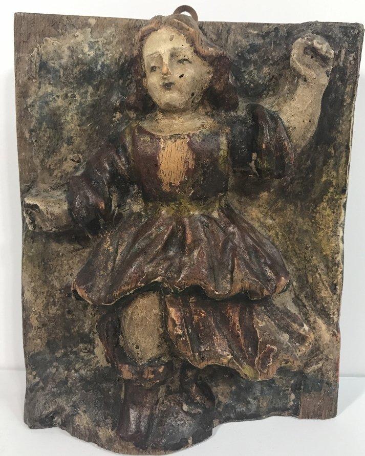 Early wood angel