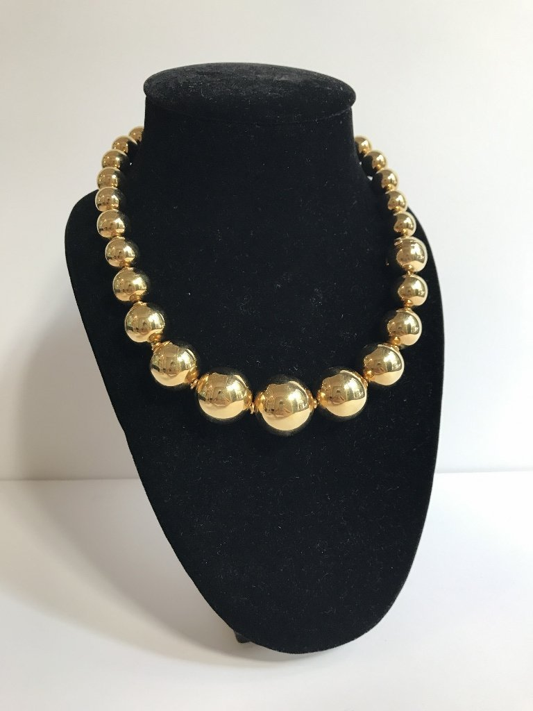 Gold necklace by De Grisogano, 82.25 dwts