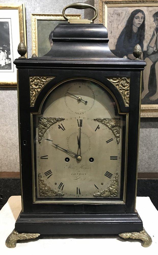 17th/18th century bracket clock, Alex Haynes