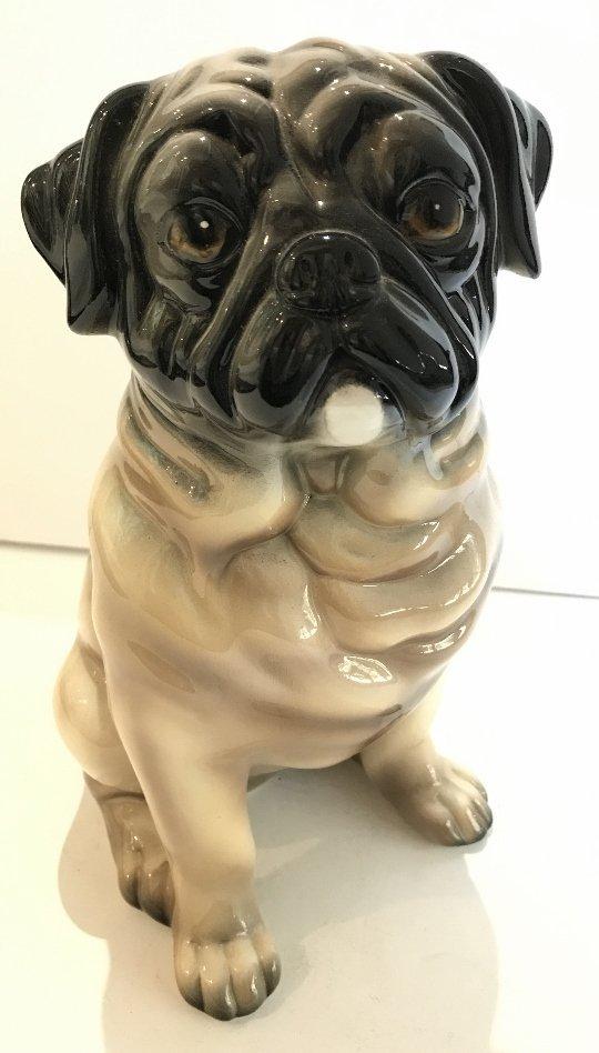 Ceramic Gump's bullldog pup, made in Italy, c.1950/1965