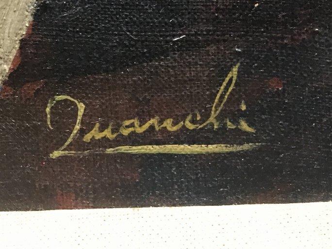 Painting by Leon W.Quanchi(American), circa 1945 - 3