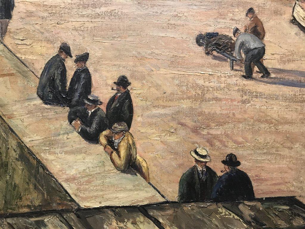 Rare large ptg of Europe by Job Nixon, 1904(British) - 4