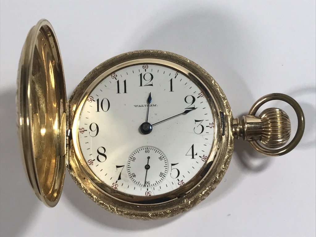 14k gold American pocket watch-47.8 dwts