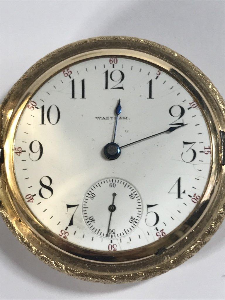 14k gold American pocket watch-47.8 dwts - 2