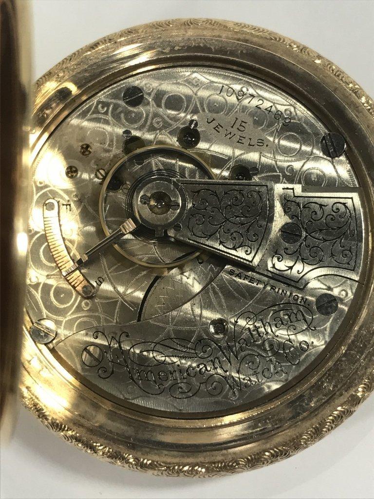 14k gold American pocket watch-47.8 dwts - 3