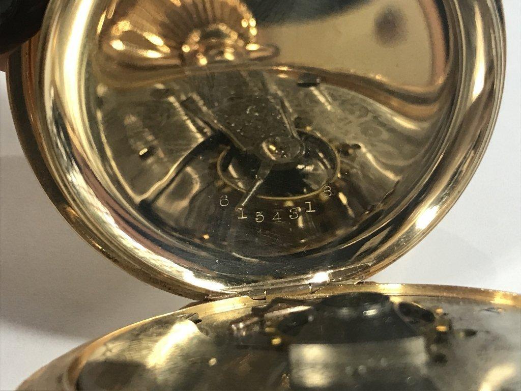 14k gold American pocket watch-47.8 dwts - 4