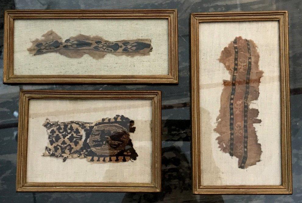 Three Coptic textile fragments