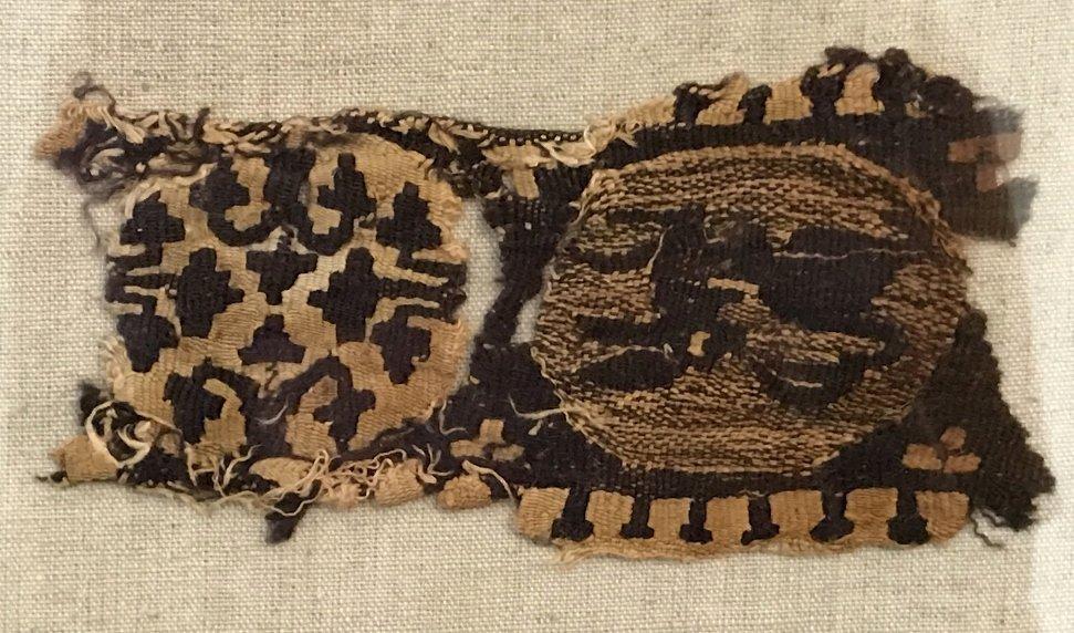 Three Coptic textile fragments - 2