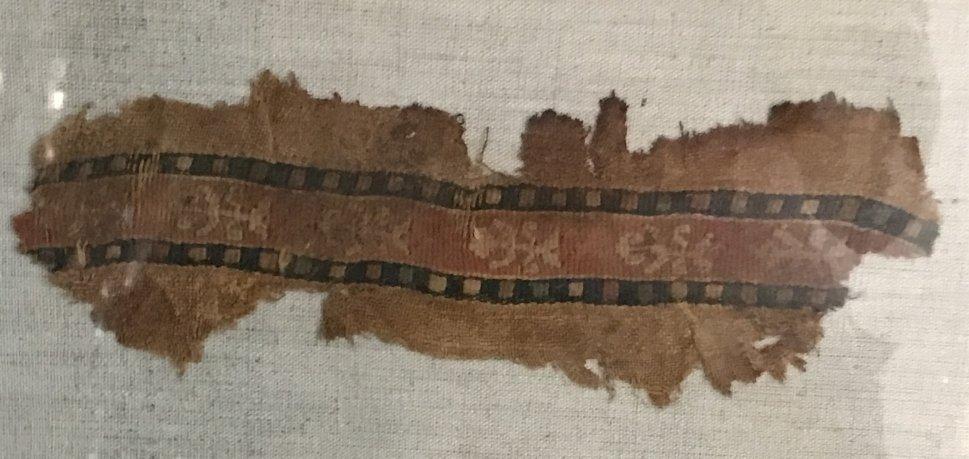 Three Coptic textile fragments - 7