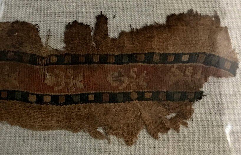 Three Coptic textile fragments - 9