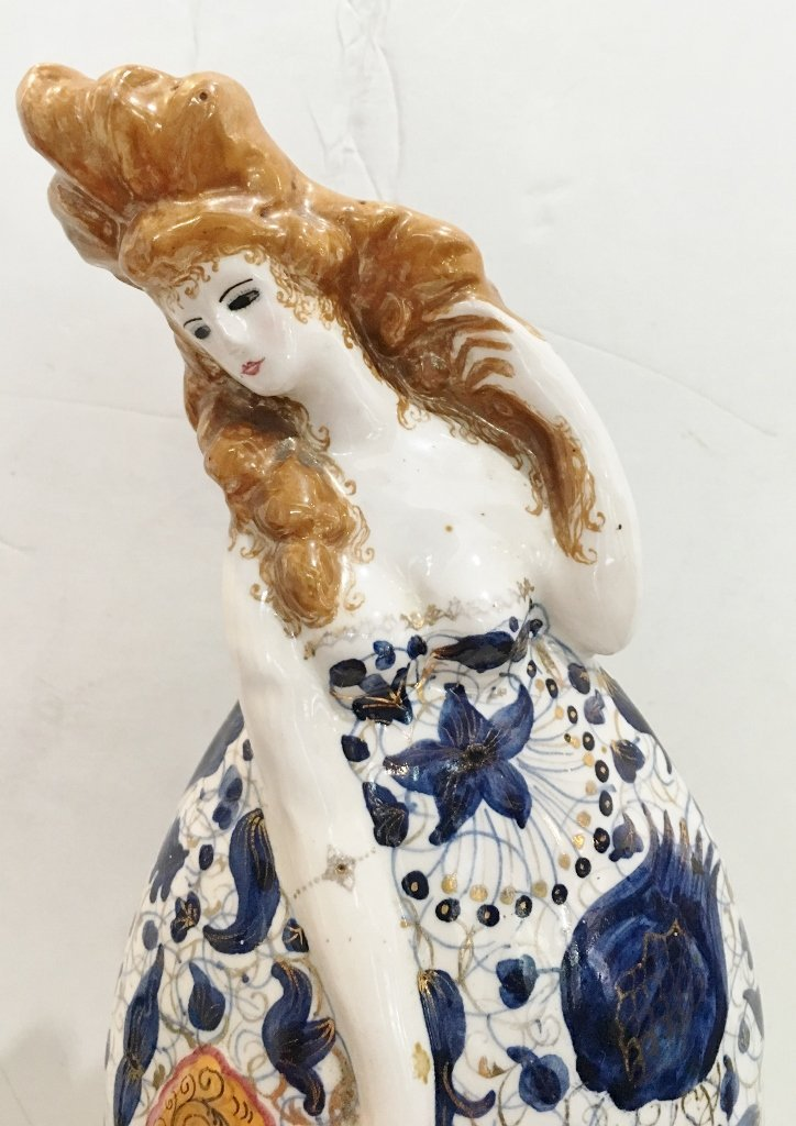 Ceramic fig. by Francesco Nonni for Melandri, c.1930 - 2