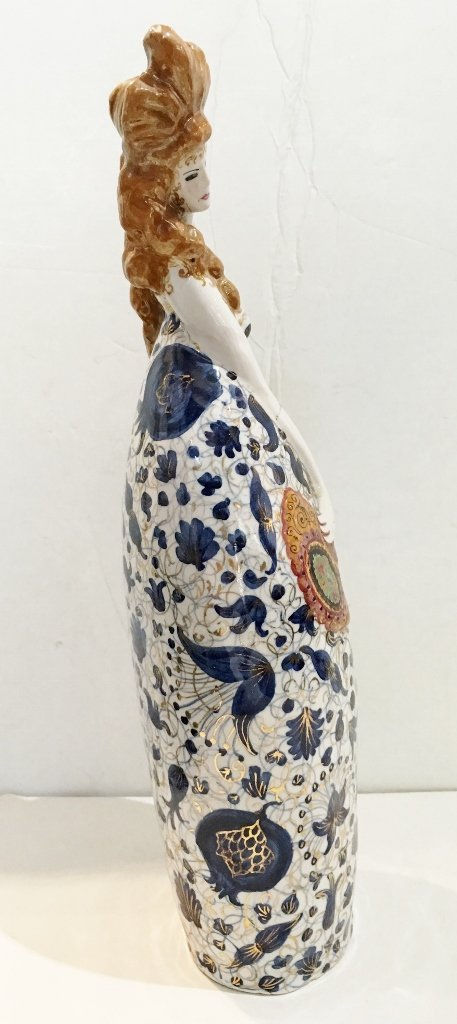 Ceramic fig. by Francesco Nonni for Melandri, c.1930 - 4