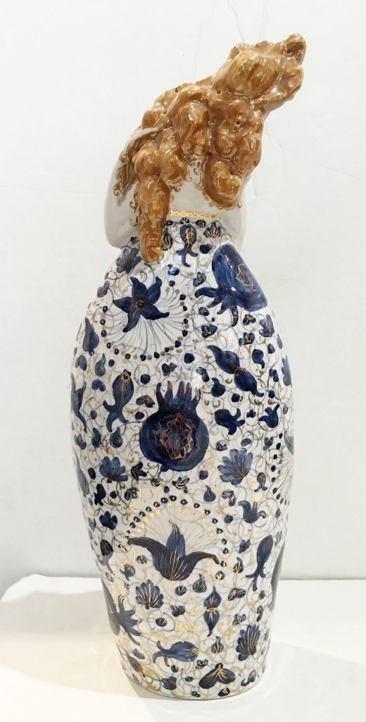 Ceramic fig. by Francesco Nonni for Melandri, c.1930 - 5