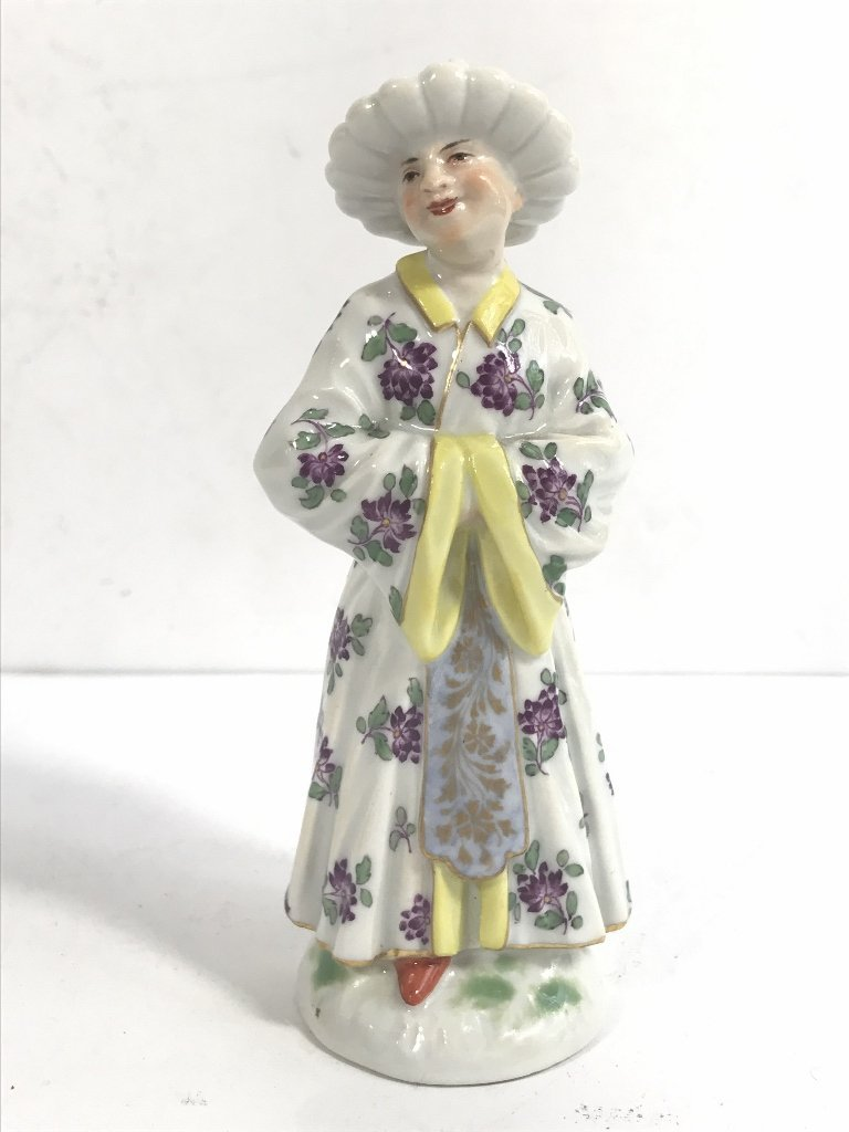 Meissen figurine of a man from the Orient, c.1900