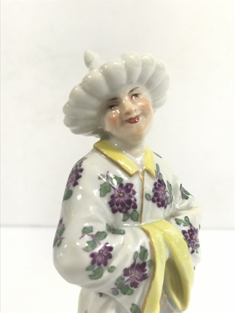 Meissen figurine of a man from the Orient, c.1900 - 5