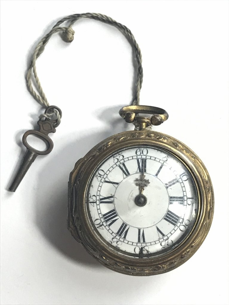 Early pocket watch-detached hand