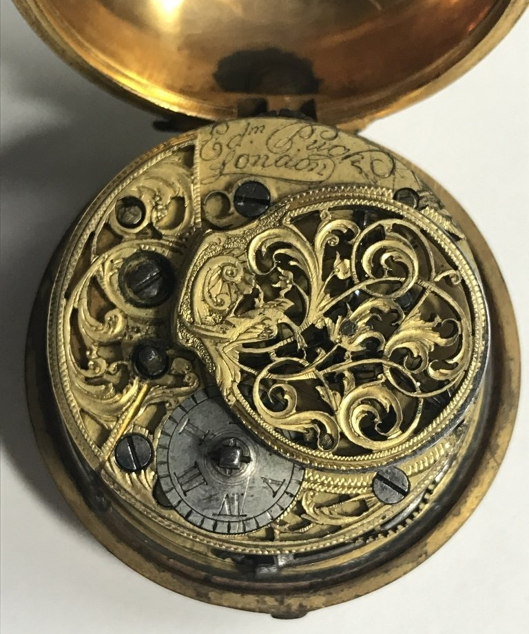 Early pocket watch-detached hand - 2