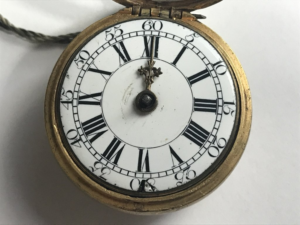 Early pocket watch-detached hand - 4
