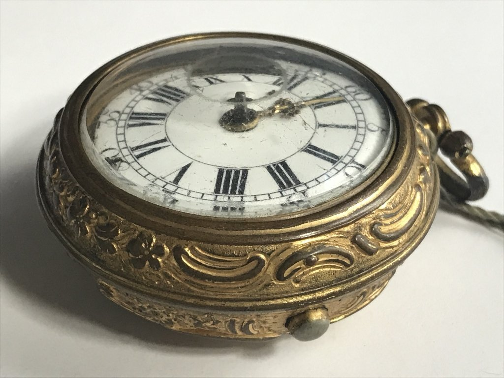 Early pocket watch-detached hand - 5