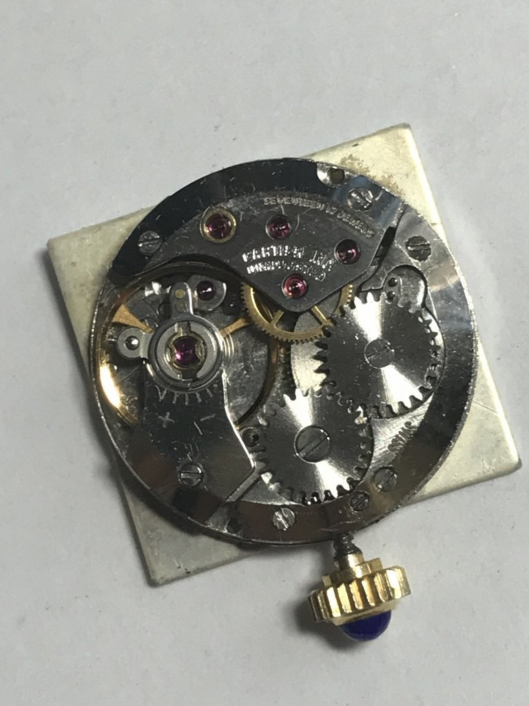 Cartier gold plated wristwatch - 5