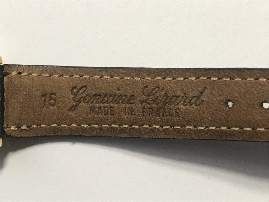 Cartier gold plated wristwatch - 8