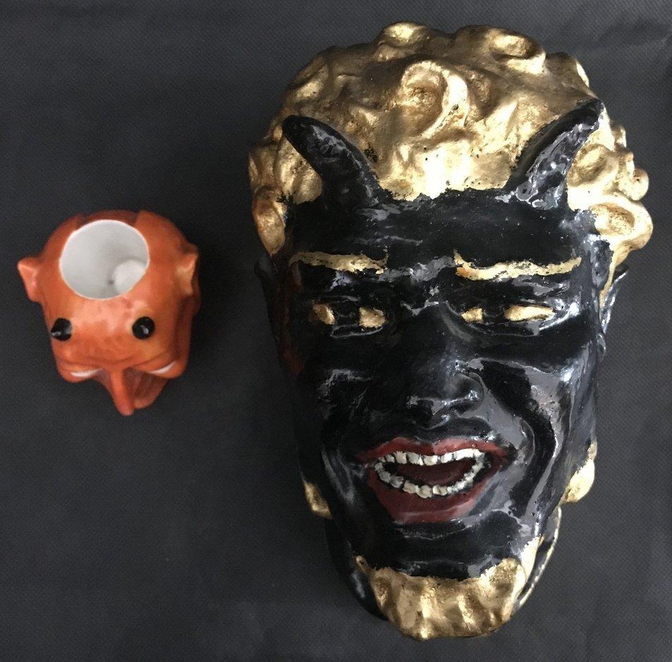 Devil matchstrike and Devil head
