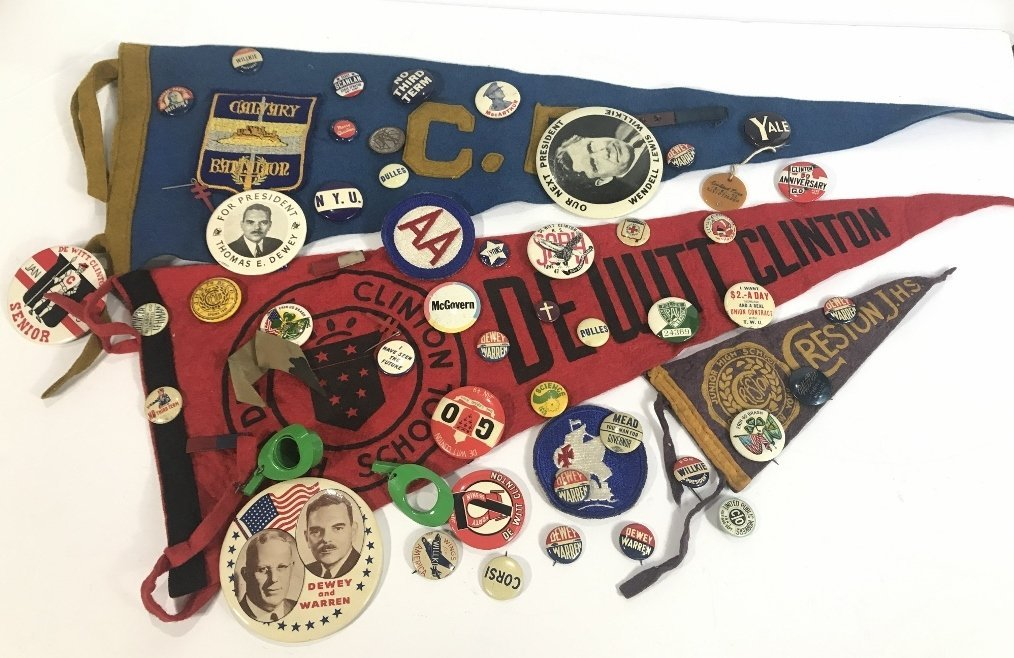 Miscellaneous old buttons