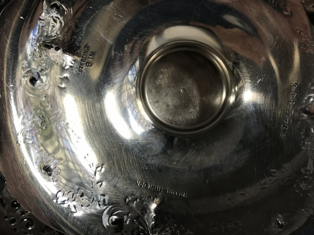 Two American sterling candy dishes, 24.7 t. oz - 4