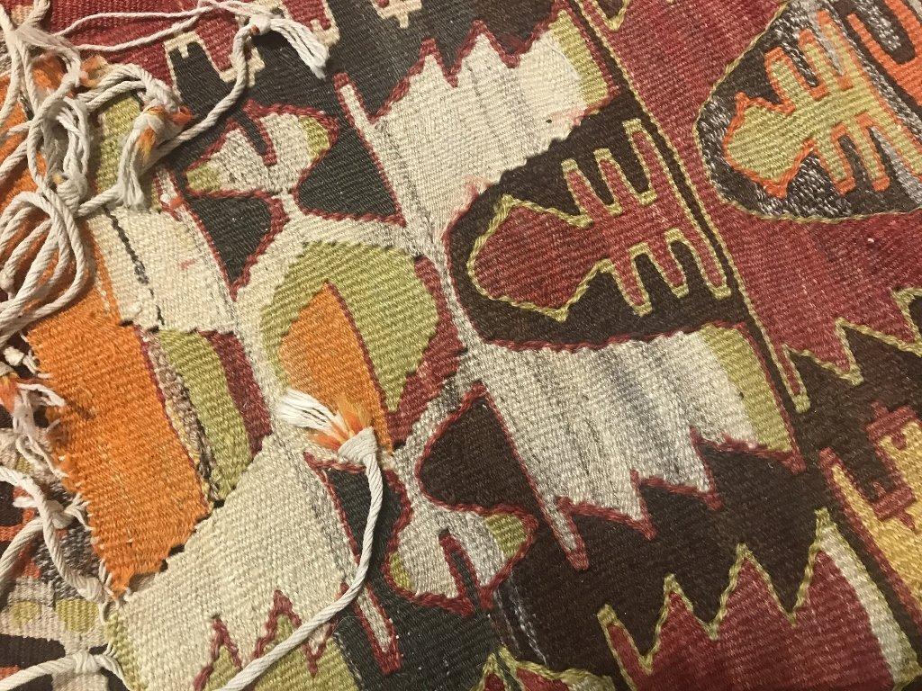 "Kilim wool carpet, 97"" x 59"" - 5"