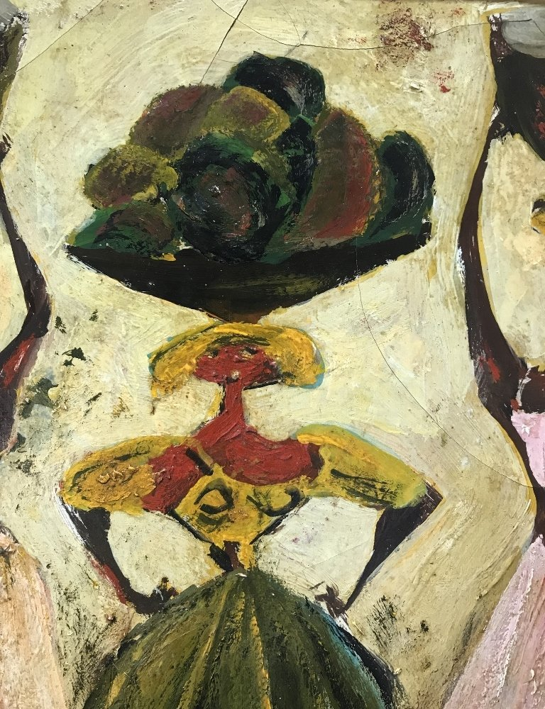 Painting of 3 women by Adolf Dehn - 5