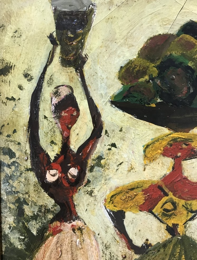 Painting of 3 women by Adolf Dehn - 6