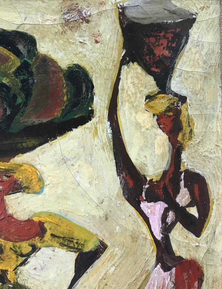 Painting of 3 women by Adolf Dehn - 7