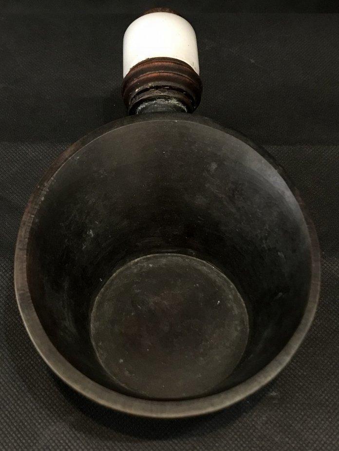 Chinese burner with white jade handle - 2