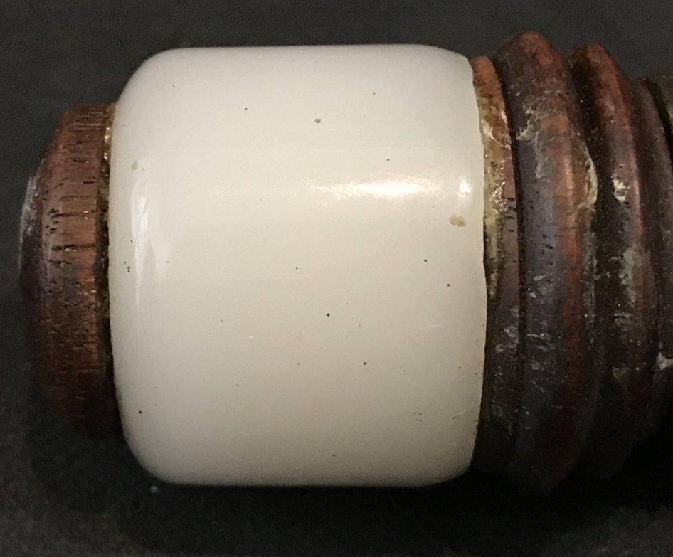 Chinese burner with white jade handle - 8