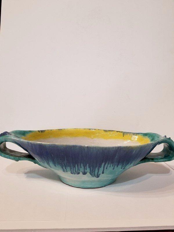 Rare Wiener Werkstatte bowl, Vally Wieselthier, c.1920