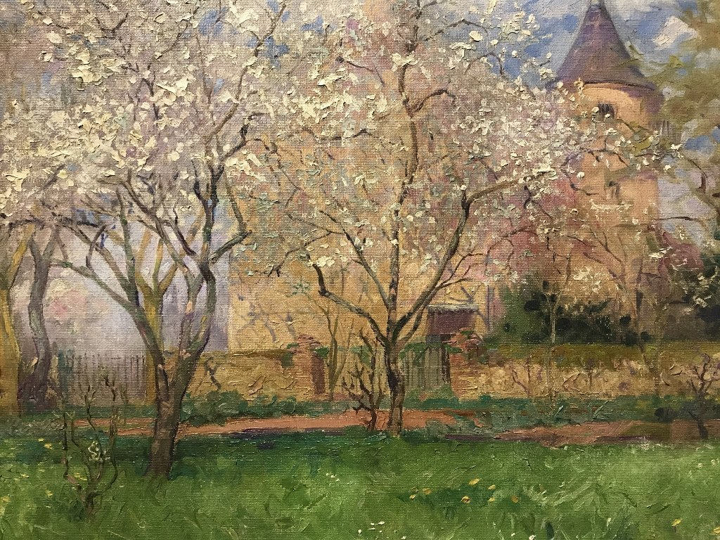 """Ptg of """"Spring"""" by Etienne-Auguste Krier(French)c.1910 - 3"""