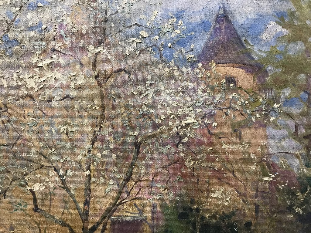 """Ptg of """"Spring"""" by Etienne-Auguste Krier(French)c.1910 - 6"""