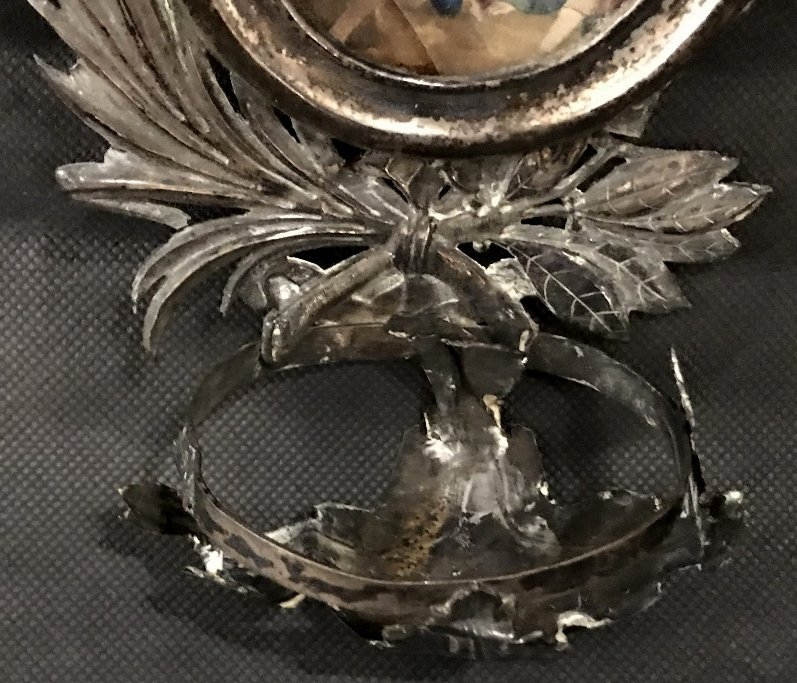Two early South American silver items - 4