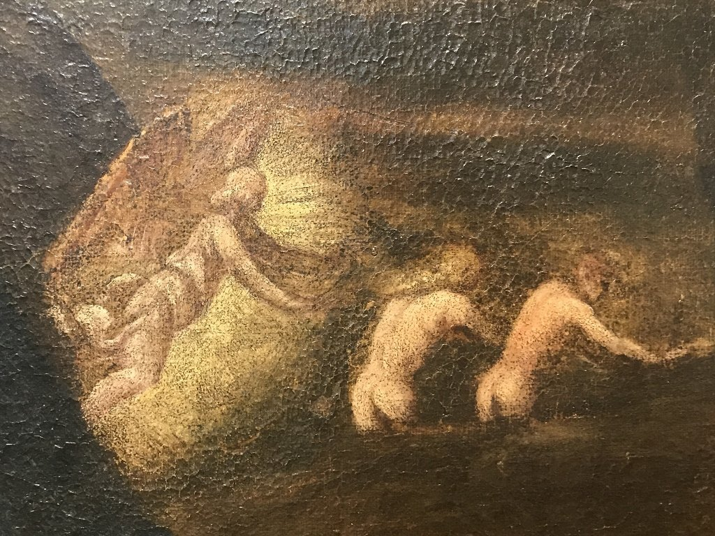 Large Old master, Adam and Eve, 18th/19th century - 5