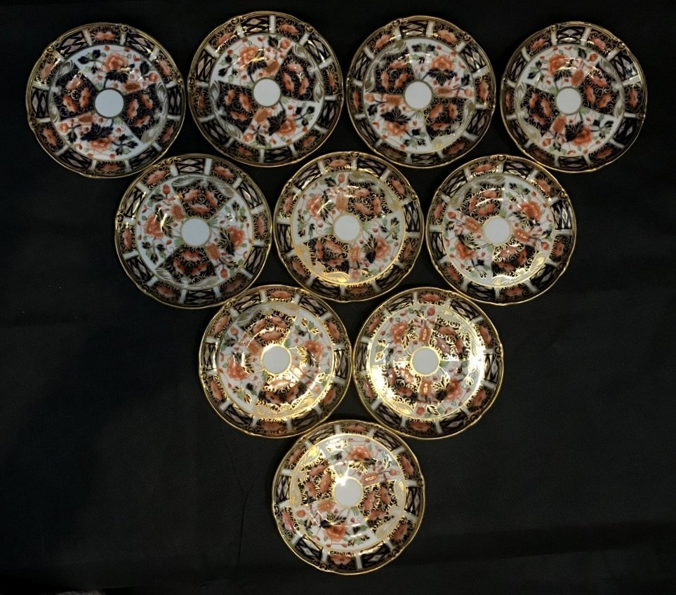 Royal Crown Derby Imari cups and saucers(set of 10) - 5