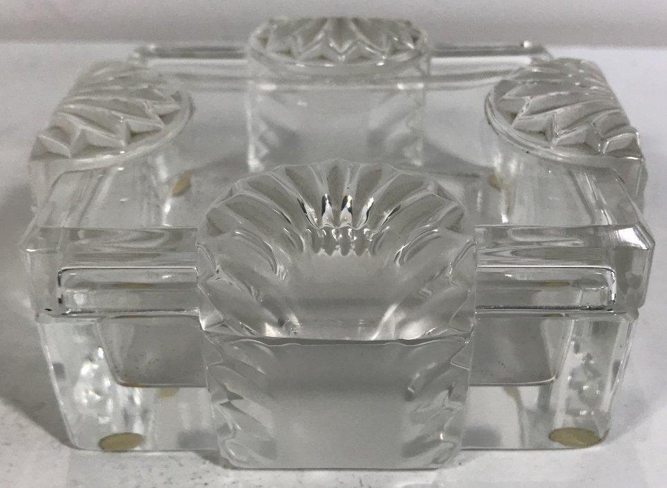 """Lalique box, """"Lalique France"""""""