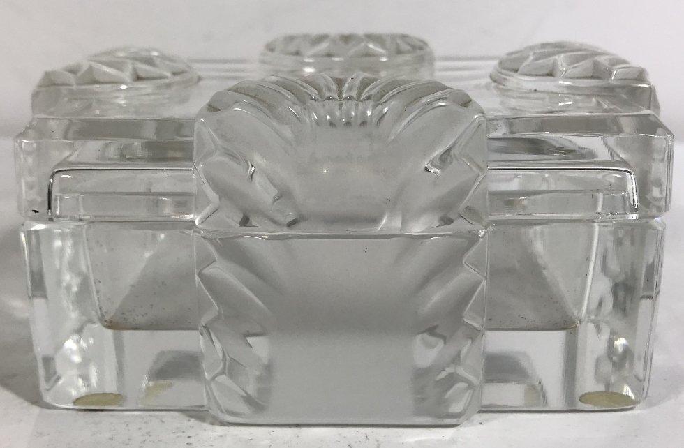 """Lalique box, """"Lalique France"""" - 2"""
